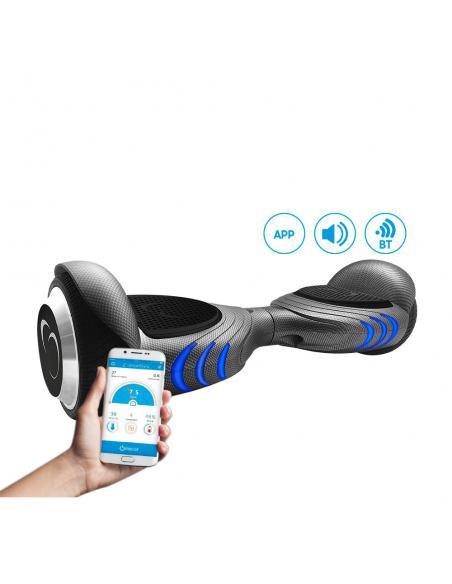 Hoverboard eléctrico smartGyro X5 Carbono