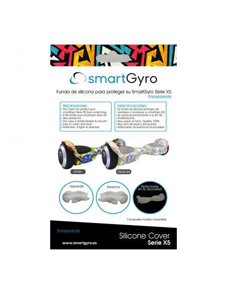 SMARTGYRO X5 SILICONE COVER TRANSPARENTE