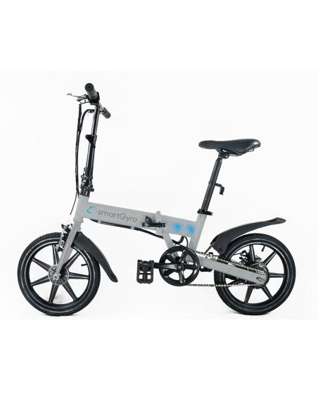 Bicicleta eléctrica smartGyro Ebike Silver