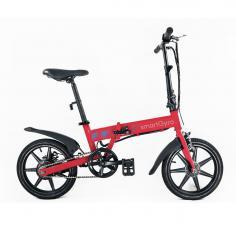Bicicleta eléctrica smartGyro Ebike Red