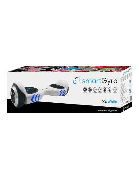 Hoverboard eléctrico smartGyro X4 White