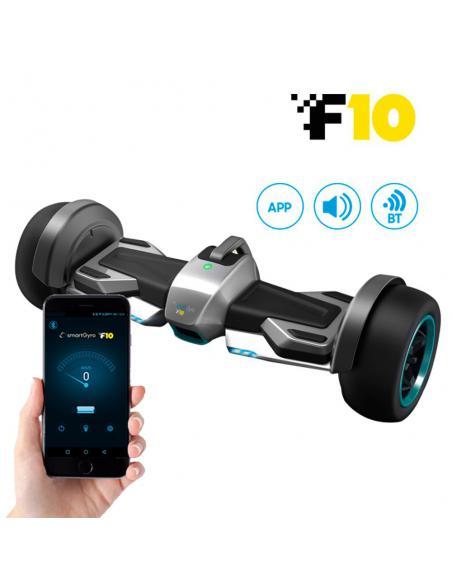 Hoverboard eléctrico smartGyro F10 Silver