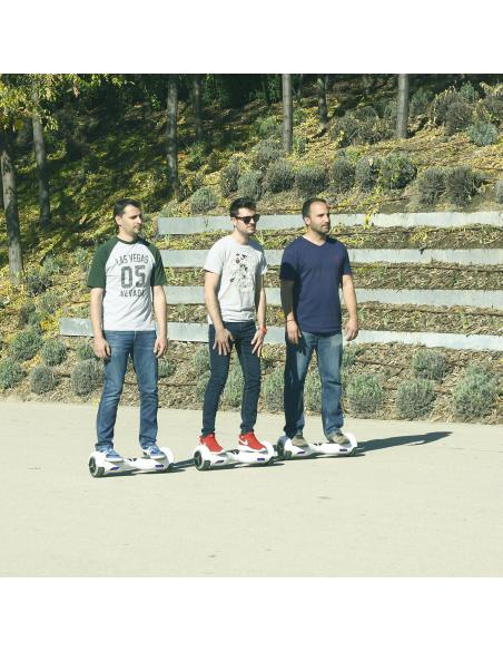 Hoverboard eléctrico smartGyro X1s Red
