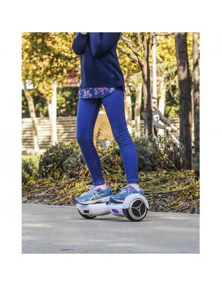 Hoverboard eléctrico smartGyro X1s Blue