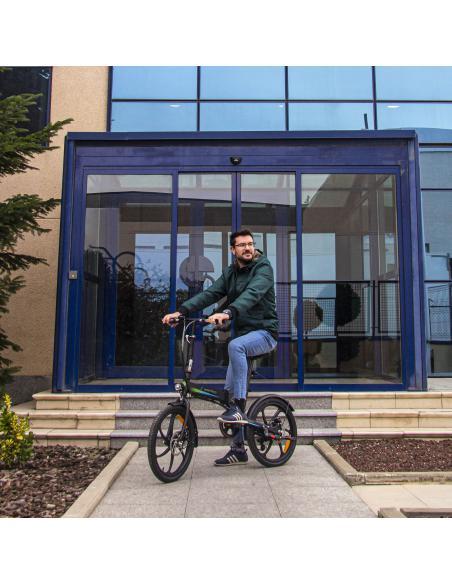 Bicicleta eléctrica urbana smartGyro Ebike Crosscity Black
