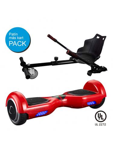 SMARTGYRO X2 UL RED + GO KART BLACK