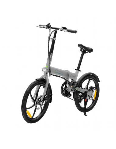 Bicicleta eléctrica smartGyro Ebike Crosscity Silver