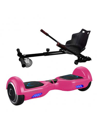 SmartGyro X1S + GO KART PACK PINK