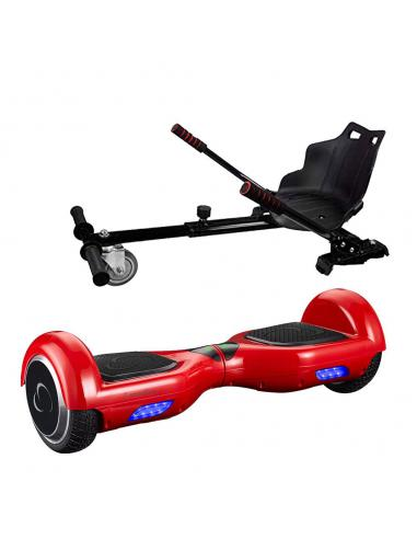 SmartGyro X1S + GO KART PACK RED