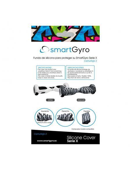SmartGyro serie X Silicone Cover Camuflaje 2